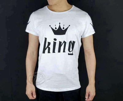 King And Queen Couple T Shirts | MJ FRANKO