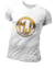 T Shirt Blanc MJ FRANKO Or