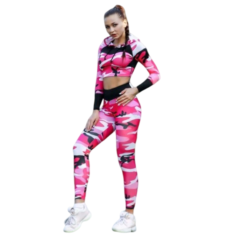 Tenue Fitness Camouflage