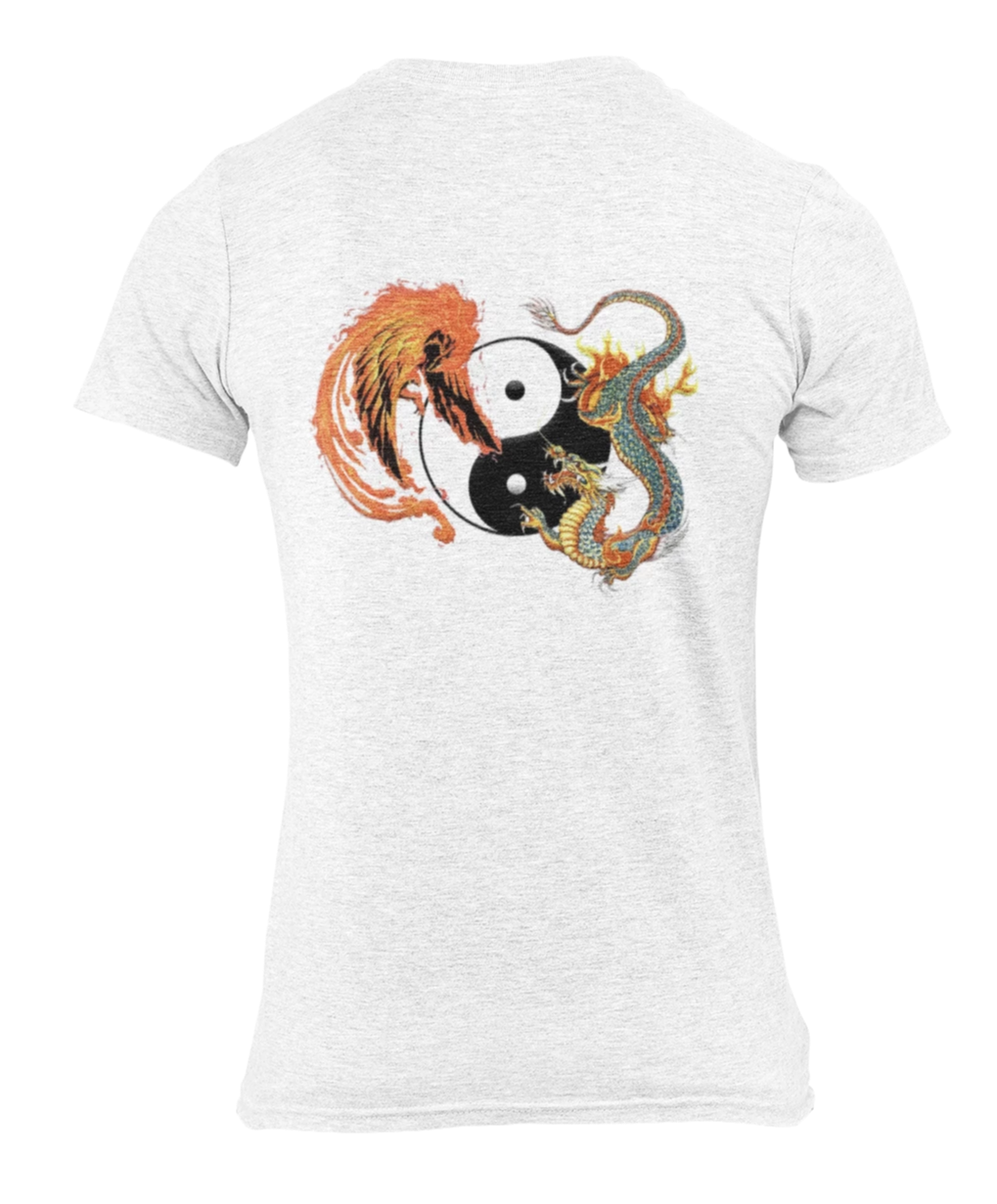 T Shirt Phoenix et Dragon