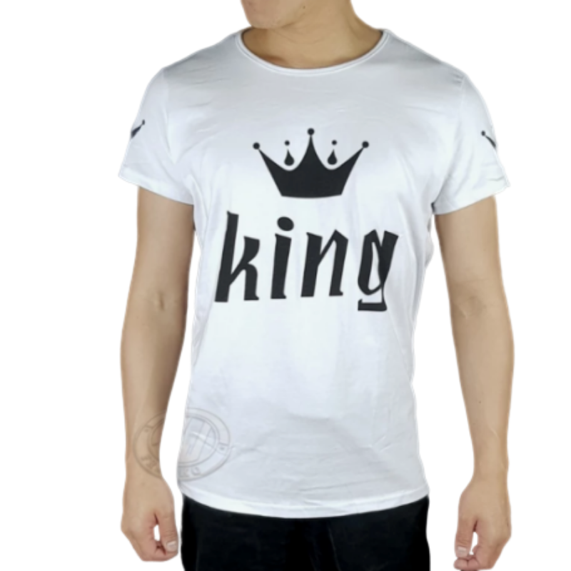 King And Queen Couple T Shirts