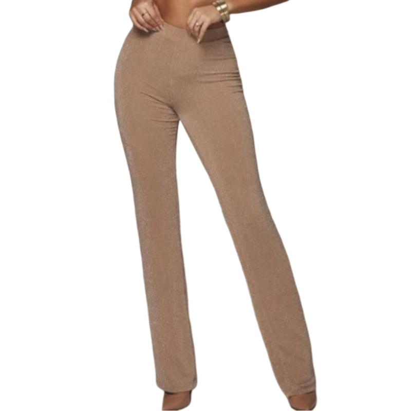 Pantalon Slim Pailleté