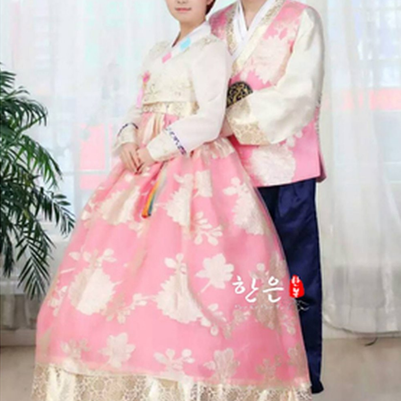 Hanbok Rose Couple