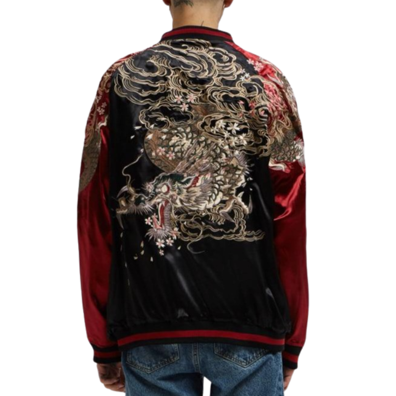 Bomber Jacket Chinese Dragon