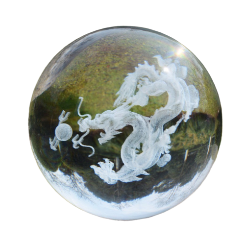 Boule Decorative en Verre Dragon | MJ FRANKO