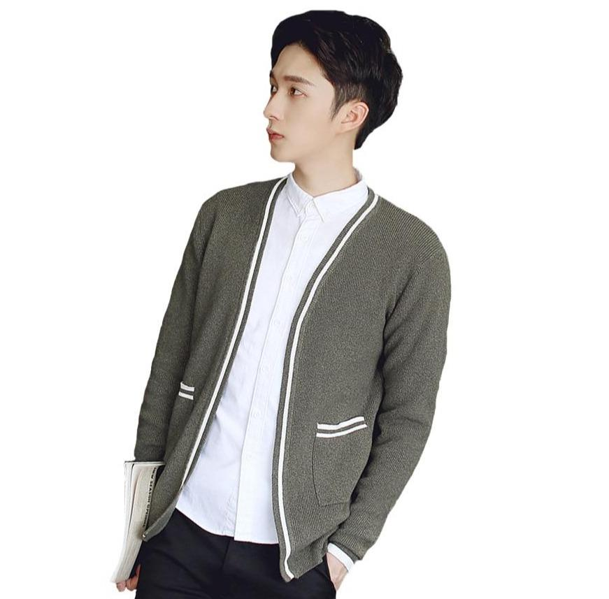 Cardigan Coton Homme