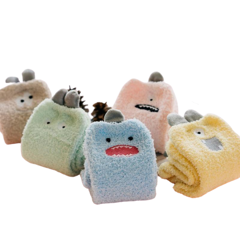 Chaussette Laine Monster Kawaii