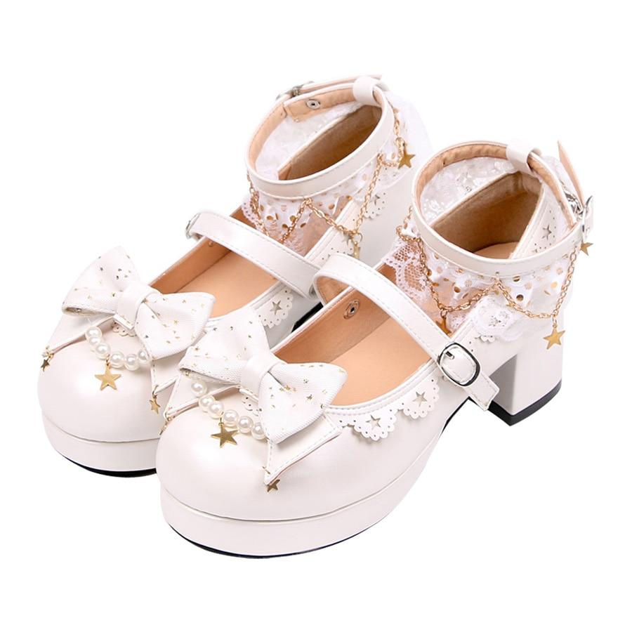 Chaussures Lolita Noeud Papillon