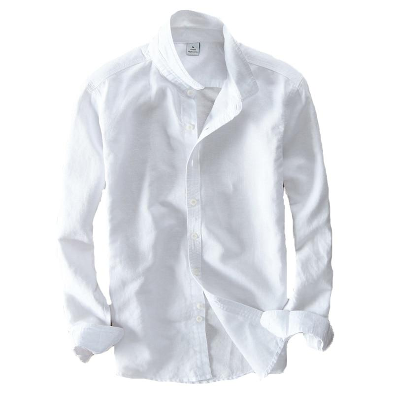 Chemise Lin Manches Longues