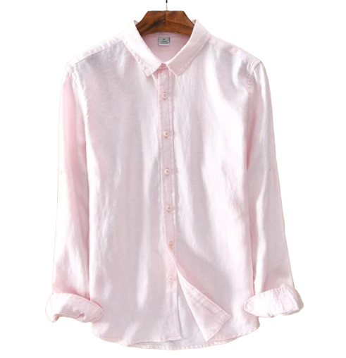 Chemise Lin Homme Manches Longues