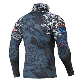 T Shirt de Compression Dragon | MJ FRANKO