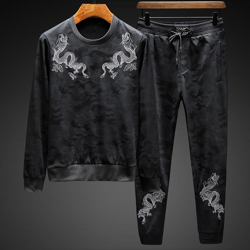 Ensemble Jogging et Pull Homme Dragon | MJ FRANKO