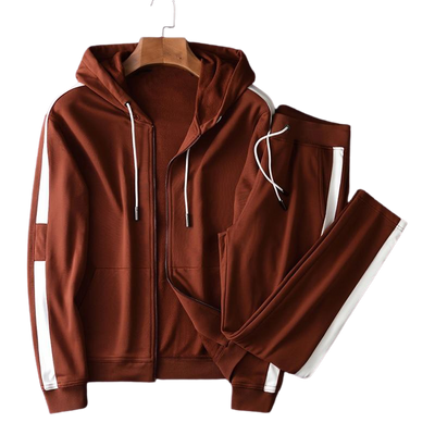 Ensemble Jogging Marron Homme | MJ FRANKO