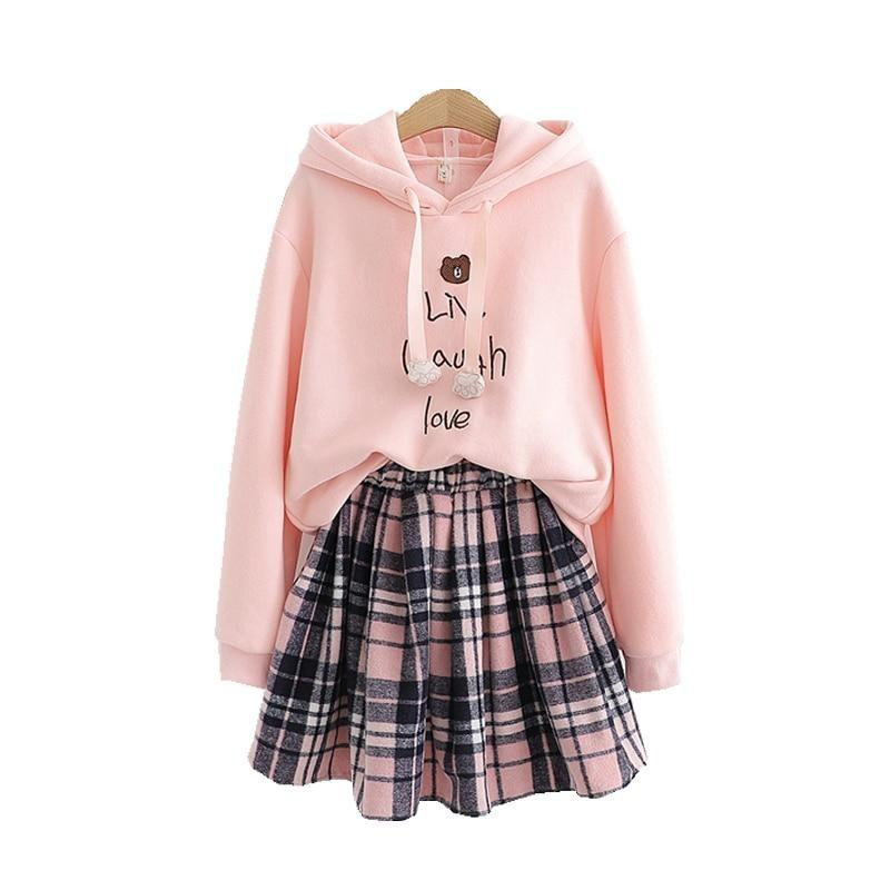 Ensemble Sweat et Jupe Kawaii