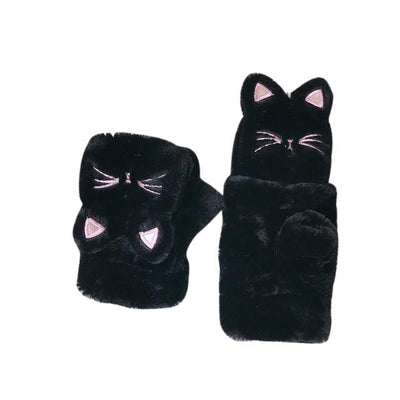 Gants Motif Chat | MJ FRANKO