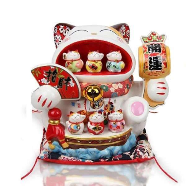 Grand Maneki Neko Tirelire