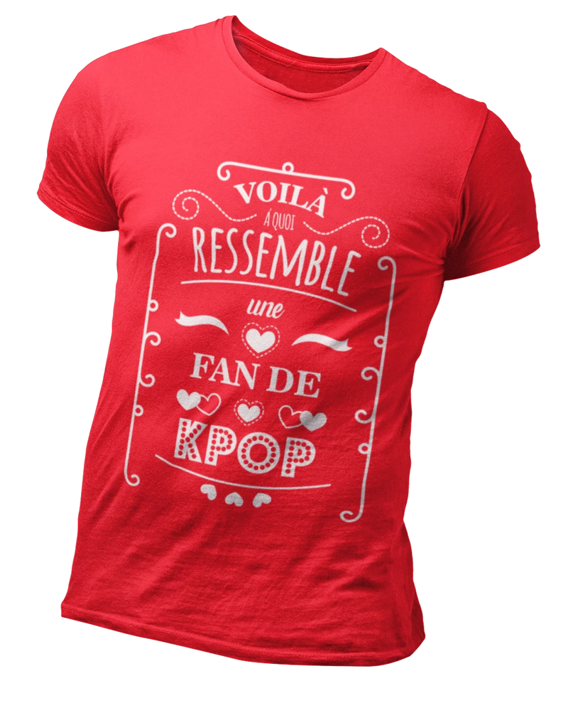 T Shirt Fan Kpop