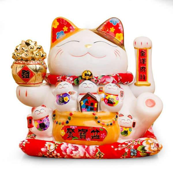 Maneki Neko Patte qui Bouge