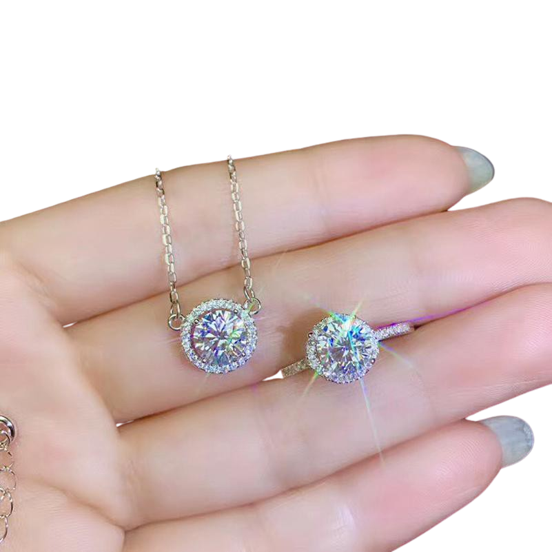 Moissanite Bridal Sets