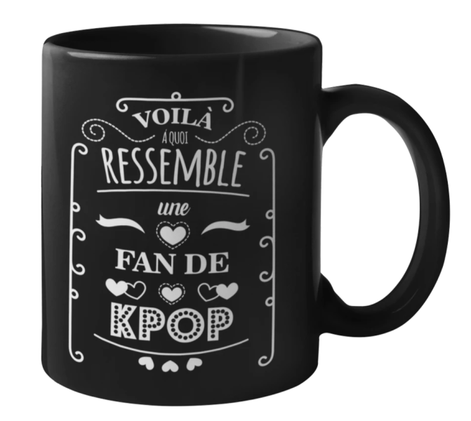 Mug Fan Kpop | MJ FRANKO