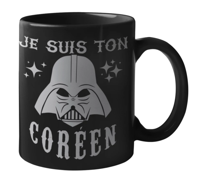 Mug Star Wars Coréen