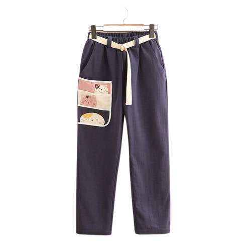Pantalon Cargo Kawaii