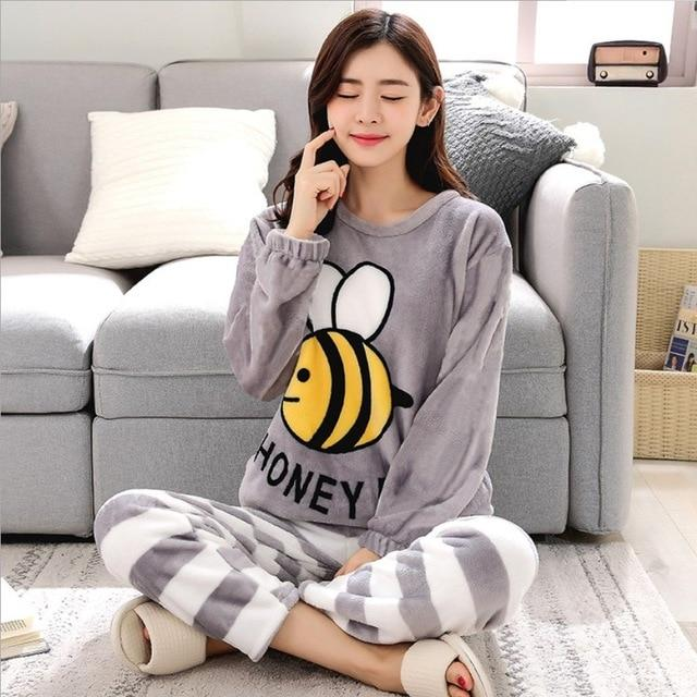 Pyjama Abeille Adulte