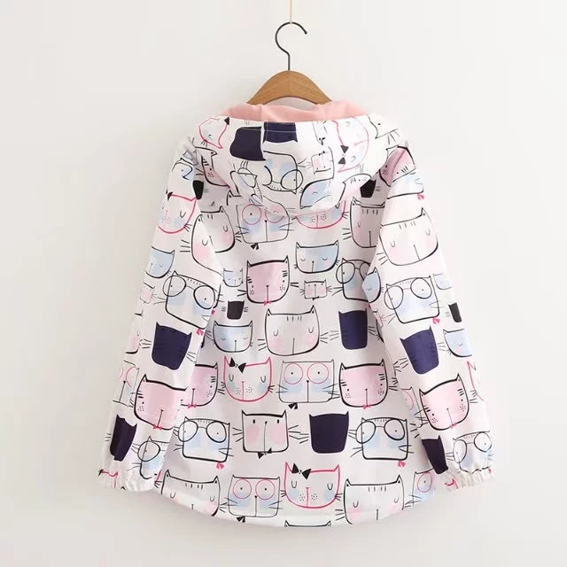 Veste Dessin Chat Kawaii | MJ FRANKO