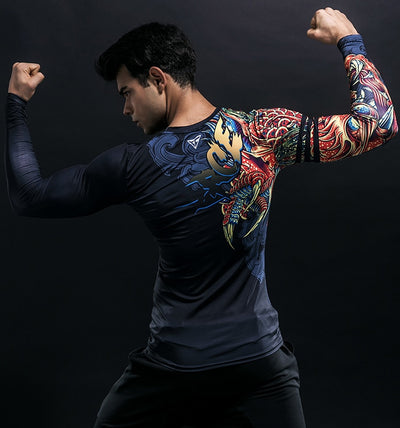 T Shirt Compression Dragon | MJ FRANKO