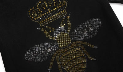 T Shirt Abeille Strass | MJ FRANKO