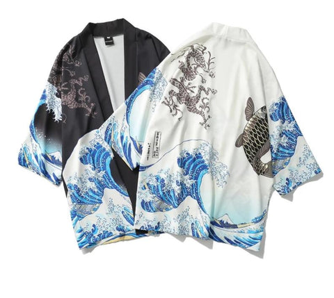 Cardigan Japonais Vague | MJ FRANKO