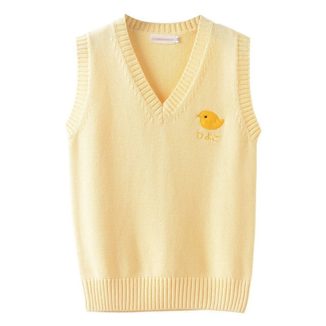 Pull Femme Jaune Poussin