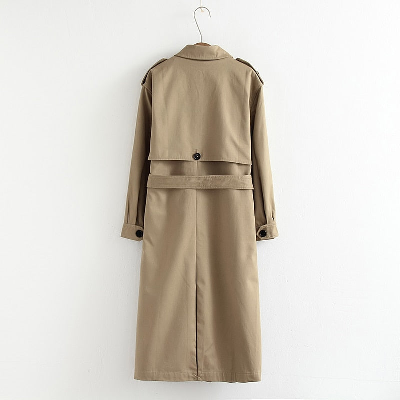 Manteau Trench Long Femme