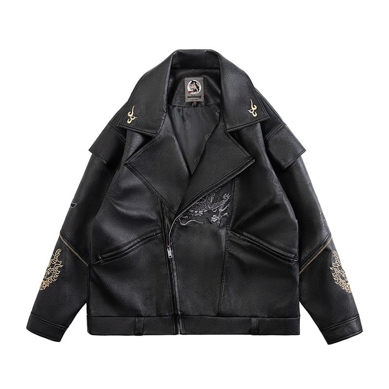 Veste Cuir Dragon