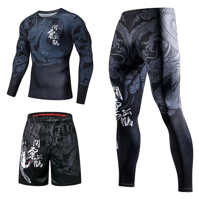 Ensemble de Sport Homme Dragon | MJ FRANKO