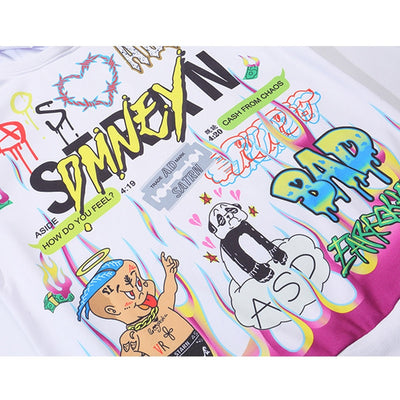 Sweat Graffiti Streetwear Homme
