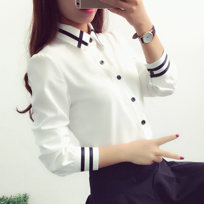 Chemise Blanche Femme Chic