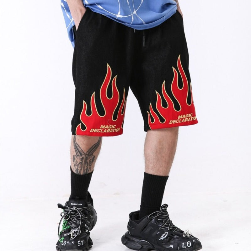 Short Homme Flamme