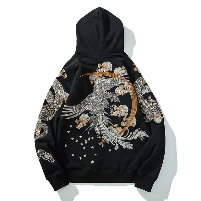 Sweat Japonais Brodé