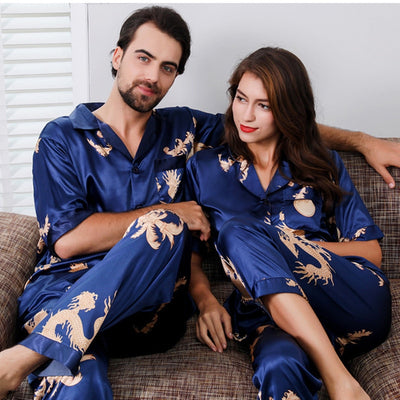Pyjama Couple Satin