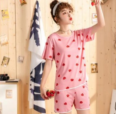 Ensemble Pyjama Short et T Shirt Kawaii | MJ FRANKO