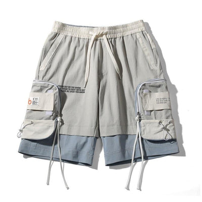 Short Streetwear Homme Grandes Poches