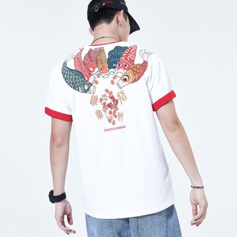 Tee Shirt Koi Carpe | MJ FRANKO