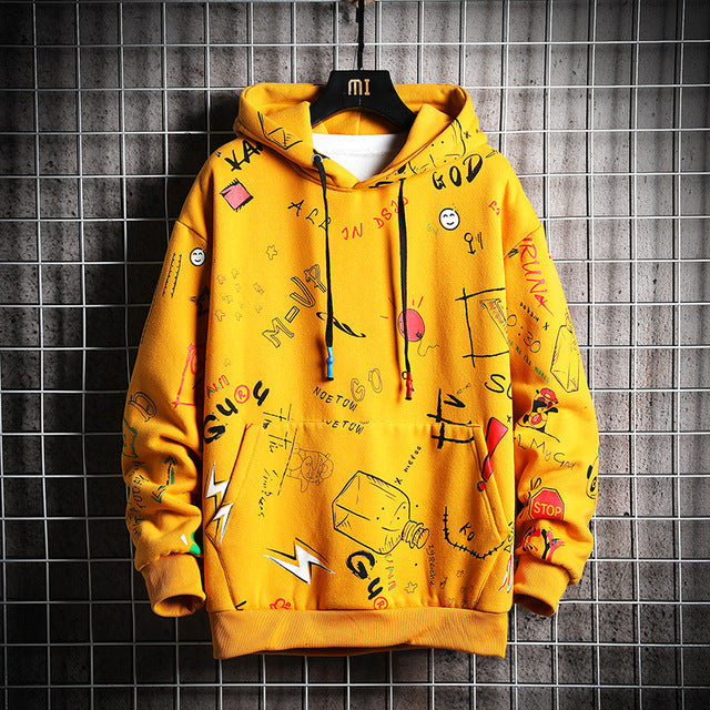 Streetwear Hoodies Mens
