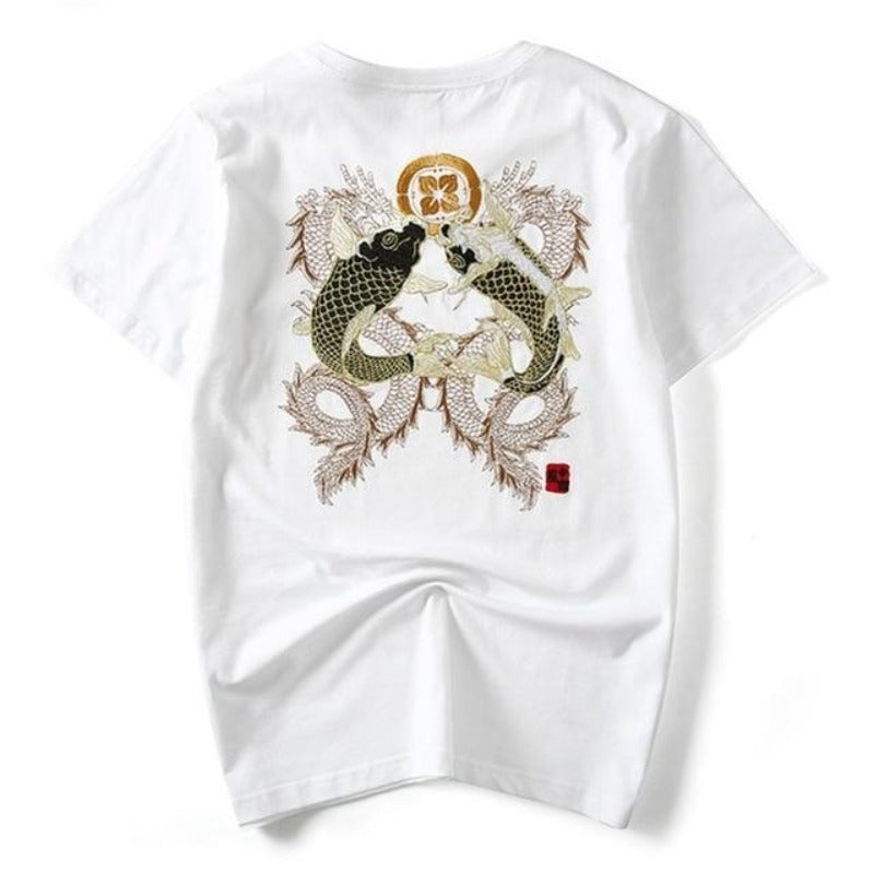 T Shirt Double Koi | MJ FRANKO