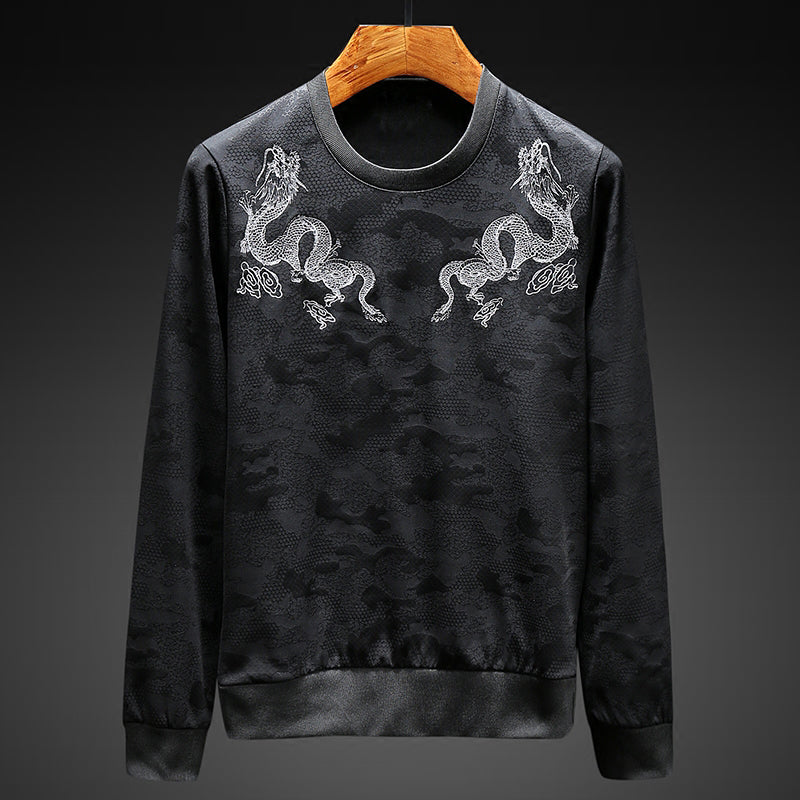 Ensemble Jogging et Pull Homme Dragon