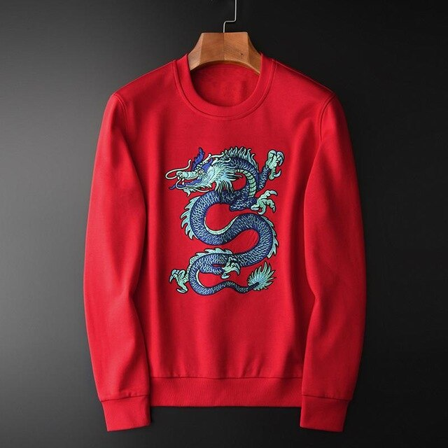 Pull Rouge Dragon