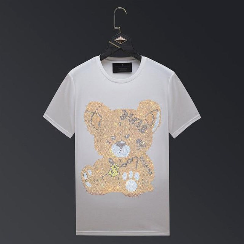 T Shirt Ourson Strass