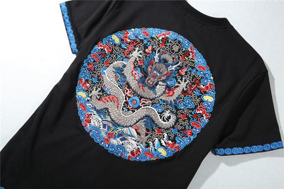 T Shirt Dragon Chinois | MJ FRANKO