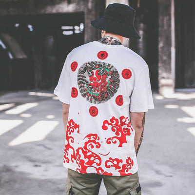 T Shirt Demon Japonais | MJ FRANKO